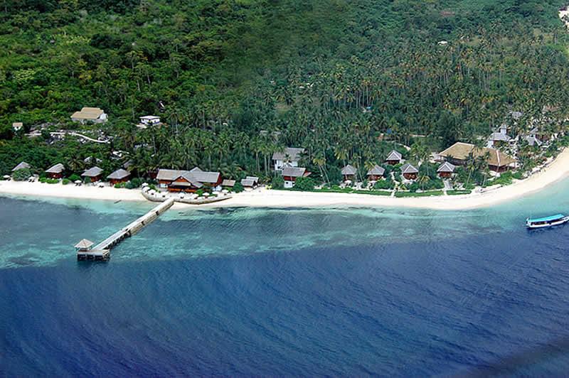 Hoga Island Indonesia Map